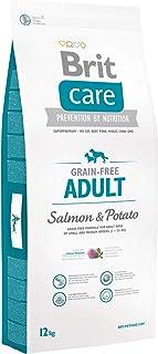 BRIT Care Grain-Free Croquette Saumon/Pommes de Terre sans Céréales pour Chien Adulte 12 kg