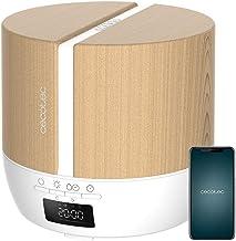 Cecotec Difusor de aromas PureAroma 550 Connected White Woody. Capacidad 500ml, Pantalla LED, Altavoz, Control por bluetoo...