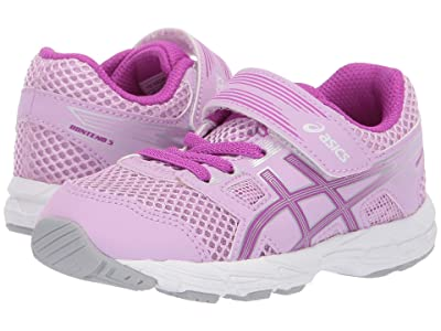 ASICS Kids Gel-Contend TS (Toddler) (Astral/Orchid) Girls Shoes