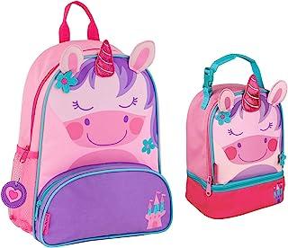 Stephen Joseph Girls Sidekick Unicorn Backpack and Lunch Pal
