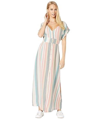 Roxy Furore Lagoon Dress (Snow White Retro Vertical) Women