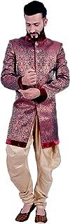 maroon sherwani wedding