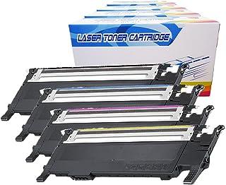 Best Inktoneram Compatible Toner Cartridges Replacement for Samsung CLP320 CLP-320 407S CLT-407S CLX-3185 CLX-3185FN CLX-3185FW CLX-3185N CLP-320N CLP-325 CLP-325W ([Black,Cyan,Magenta,Yellow], 4-Pack) Review
