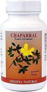 Arizona Natural Chaparral (Larrea tridentata), 500 mg, 180 Capsules