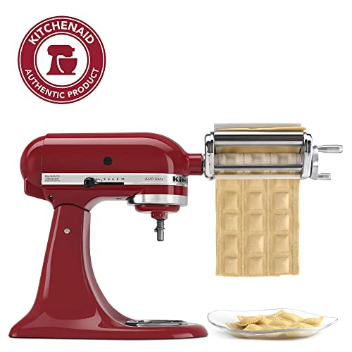 "KitchenAid KRAV Ravioli Maker, 1"", Red"