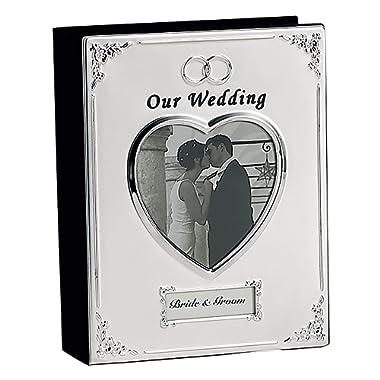 SILVER PLATED WEDDING ALBUM - Photo Album