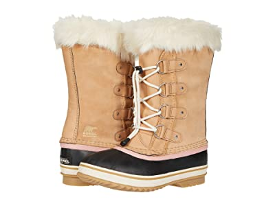SOREL Kids Joan Of Arctictm (Little Kid/Big Kid) (Honest Beige) Kids Shoes