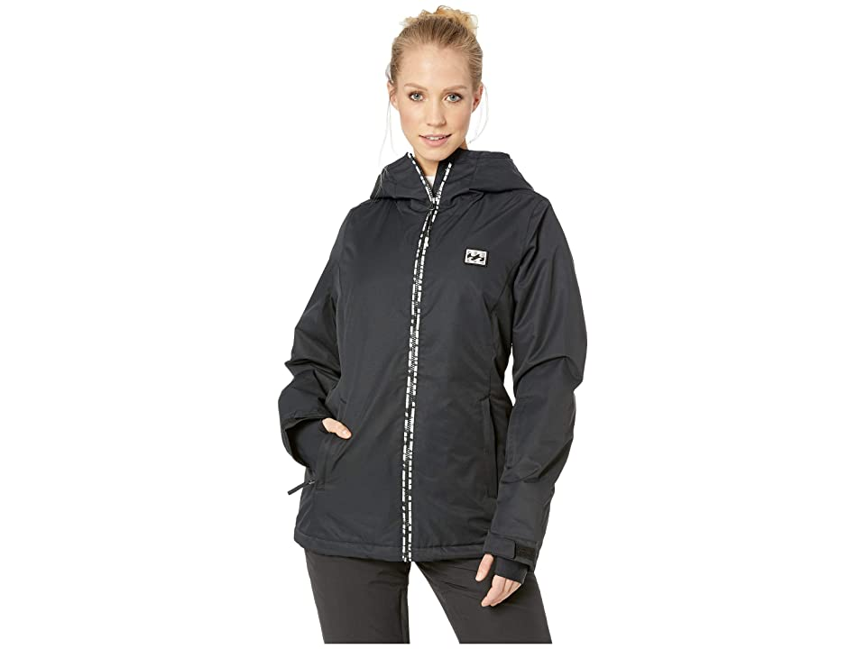 Billabong Sula Solid Insulated Jacket (Black) Women