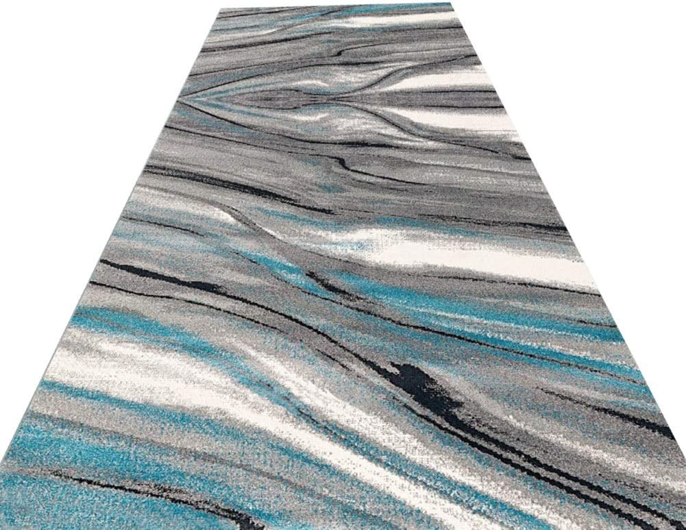 Runner Rug 40% OFF Cheap Sale Hallway Rubber Fort Worth Mall Backin Long Extra Non-Slip