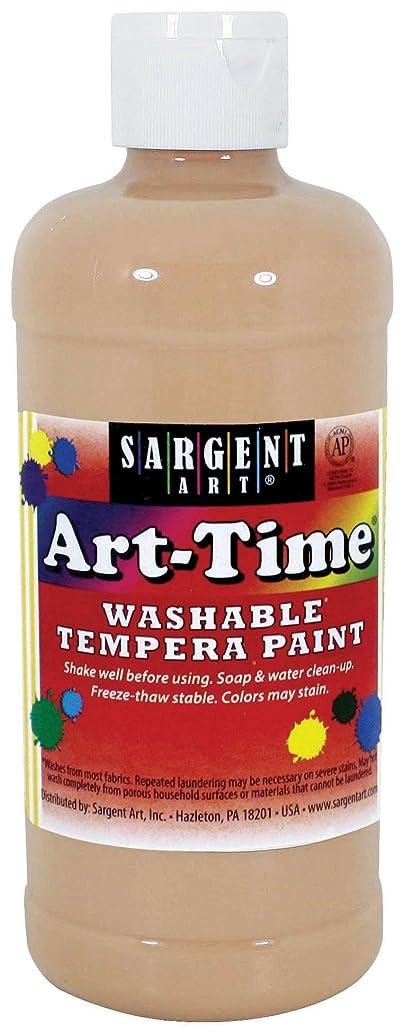 Sargent Art 17-3487 16 oz Peach Art-Time Washable Tempera Paint