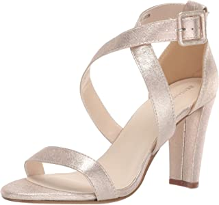 Touch Ups Women's Colbie Heeled Sandal, Champagne, 7.5 M US