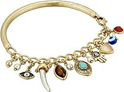 Lucky Brand - Hamsa Charm Cuff Bracelet