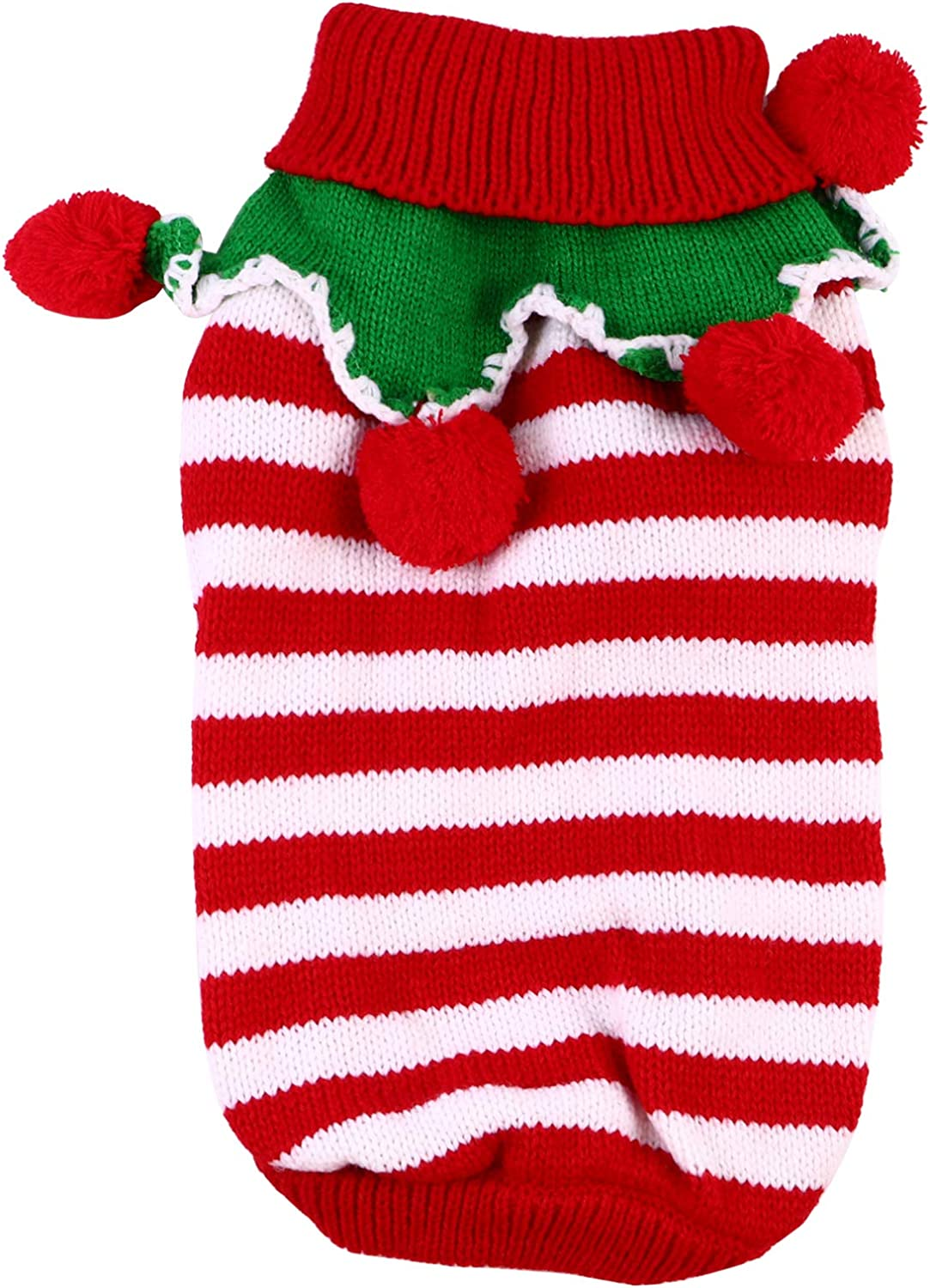 Balacoo Christmas Pet Sweater Thicken fo Bombing new work Warm Dog Winter Attention brand