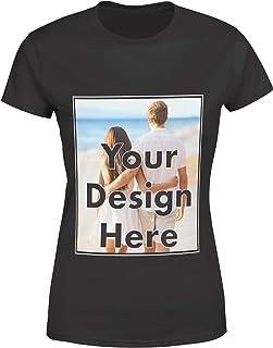 AROKAN Customize Shirts for Women Men Custom T Shirts Design Your Own Crew Neck Mens Womens Personalized Tshirts