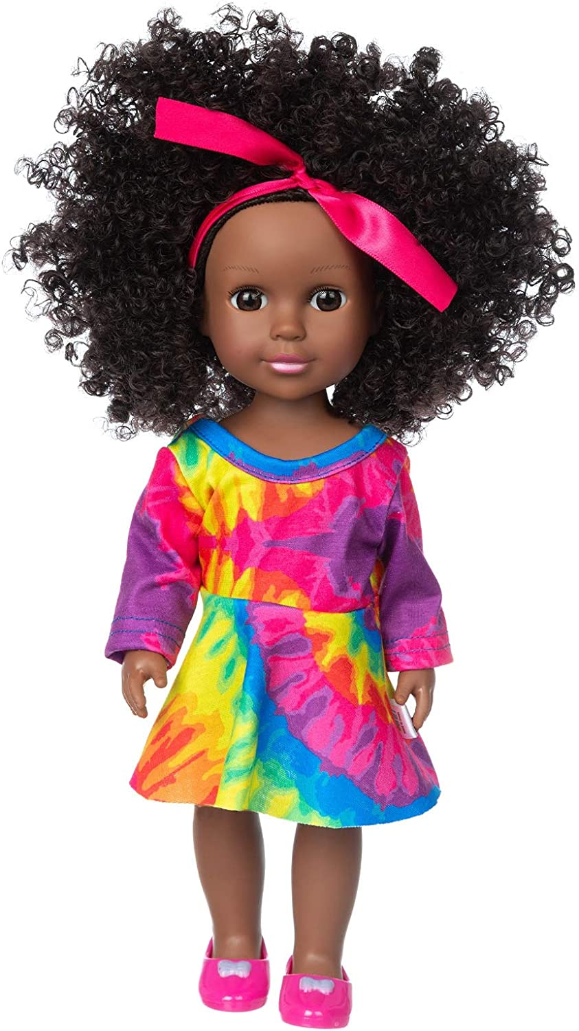 ZQDOLL Max 74% OFF Black Baby Doll 14.5 Max 89% OFF inch S and Clothes African Girl