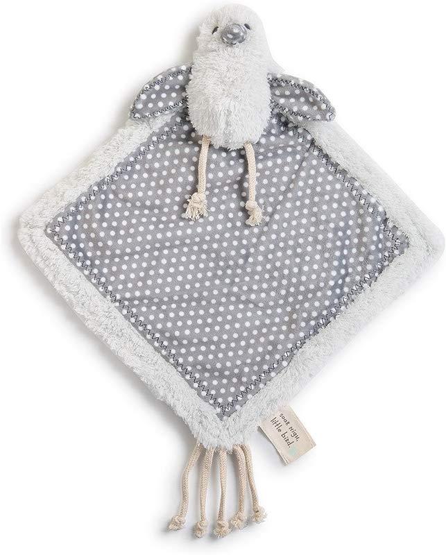 Bennett Birdie Polka Dot Grey Children S Plush Lovie Toddler Blanket