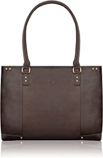 SOLO Jay 15.6 Inch Leather Laptop Carryall Tote
