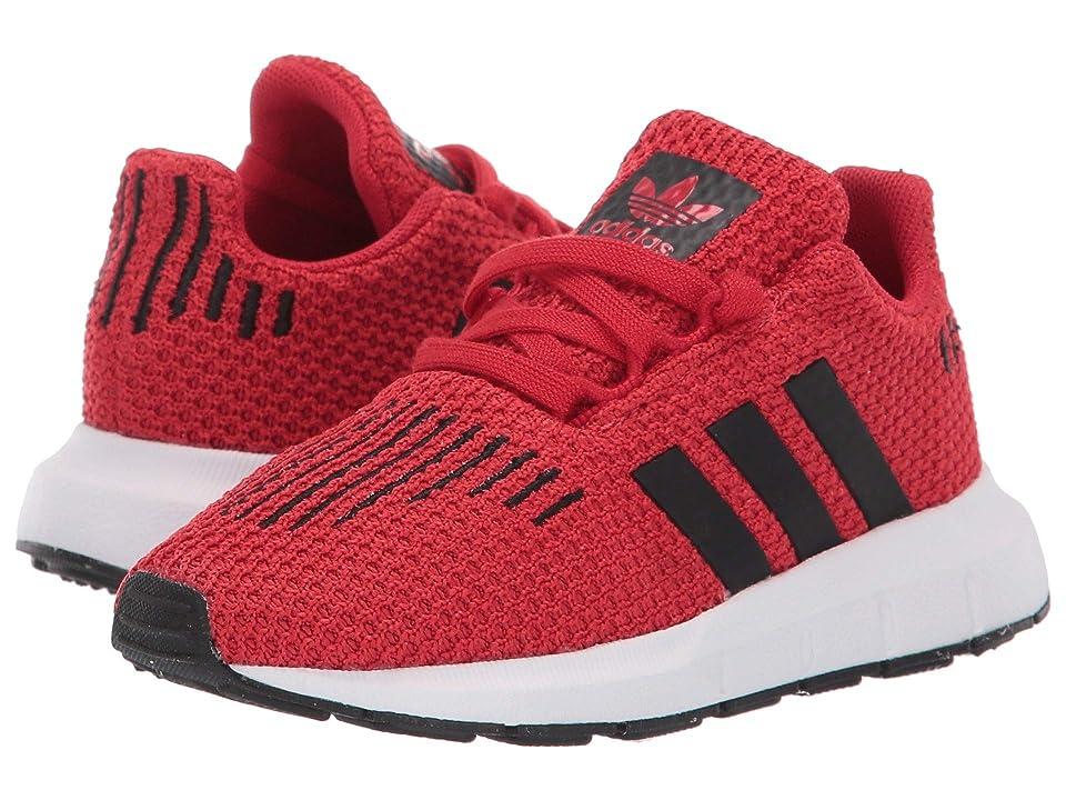 adidas Originals Kids Swift Run I (Toddler) (Scarlet/Black/White) Kids Shoes