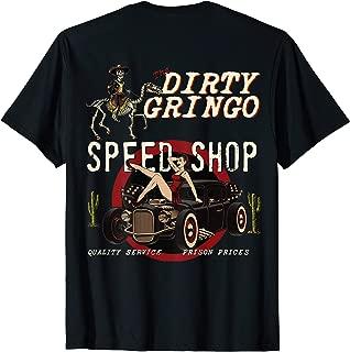Speed Shop Rat Rod Sexy Pin Up on HotRod T-Shirt