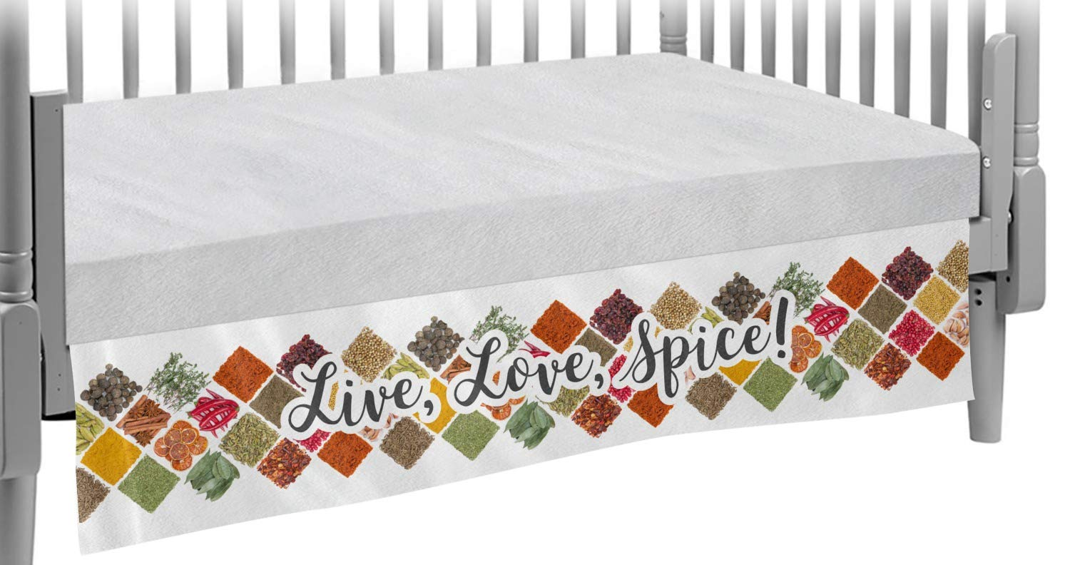 Spices Crib Skirt Personalized Award-winning Selling and selling store