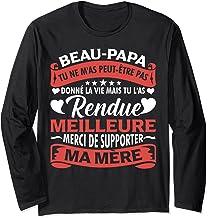 Beau-Pére Cadeau Beau-Papa Cadeaux Papa Formidable Manche Longue