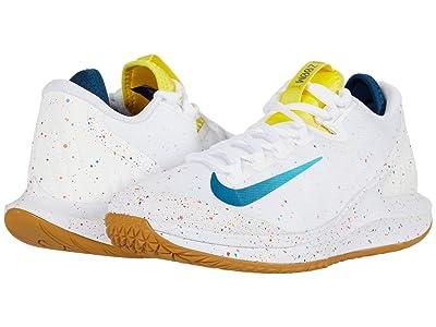 Nike Court Air Zoom Zero HC (White/Valerian Blue/Oracle Aqua) Women