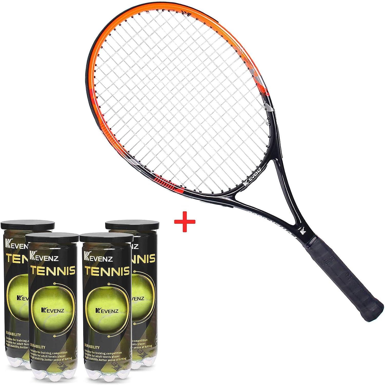 KEVENZ Professional Tennis Balls Pack of 12, KEVENZ Professional