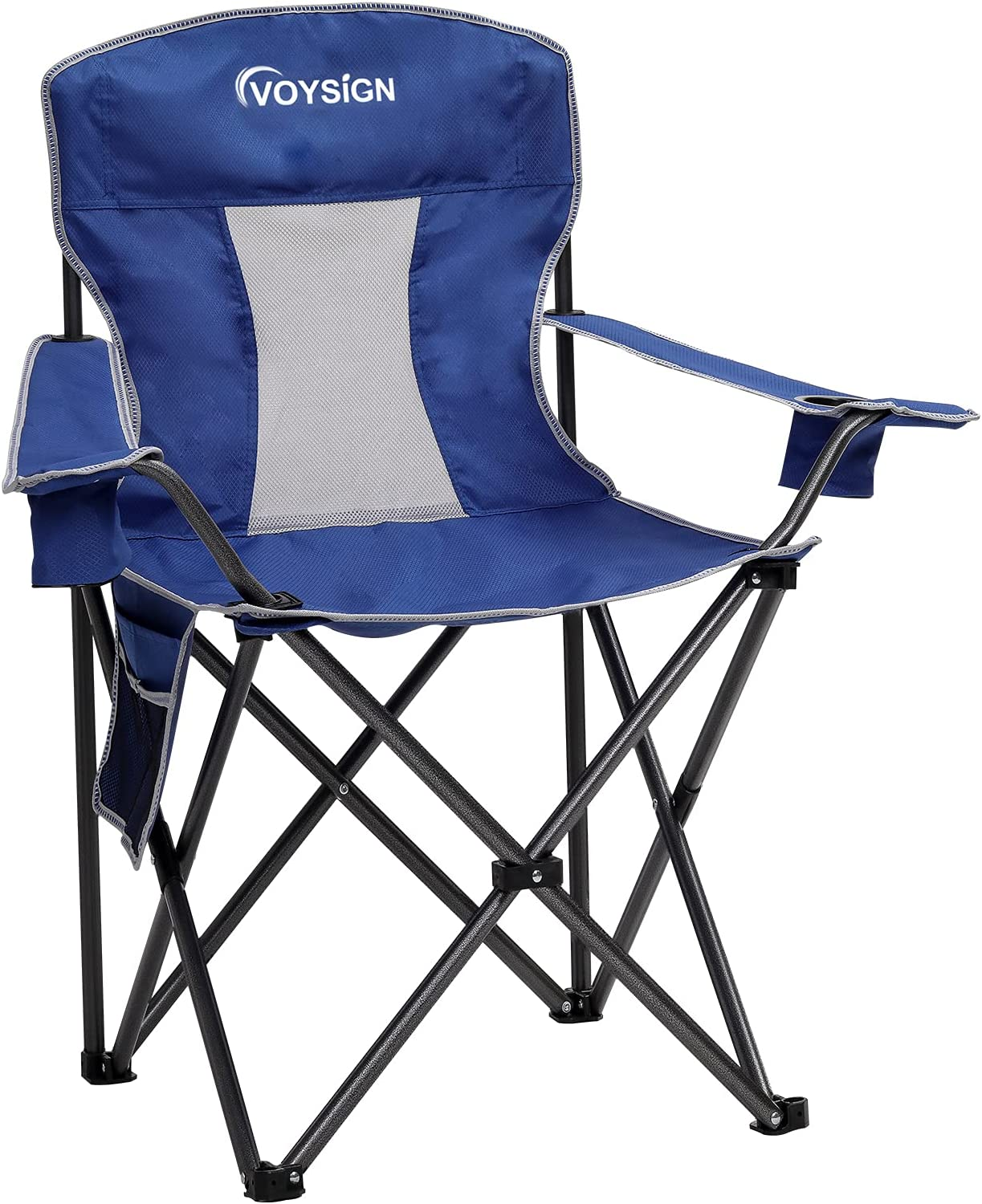 VOYSIGN Mesh Camping Chairs for Oversized Discount mail order Outdoo Adults Folding Sale SALE% OFF