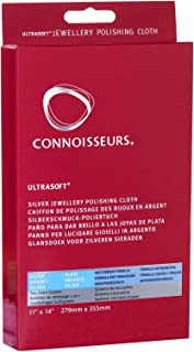 Connoisseurs Ultrasoft Silver Jewellery Polishing Cloth 27X35mm