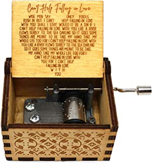 Buildinest Music Box Gifts for Love One - Wooden Music Box - Gifts for Lover, Boyfriend, Girlfriend, Husband, Wife – 1 Pc(...