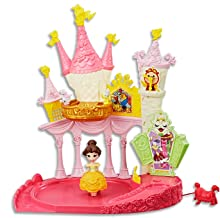 DISNEY PRINCESS - Belle - Dance n Twirl Ballroom Playset inc doll - Kids Toys - Ages 4+