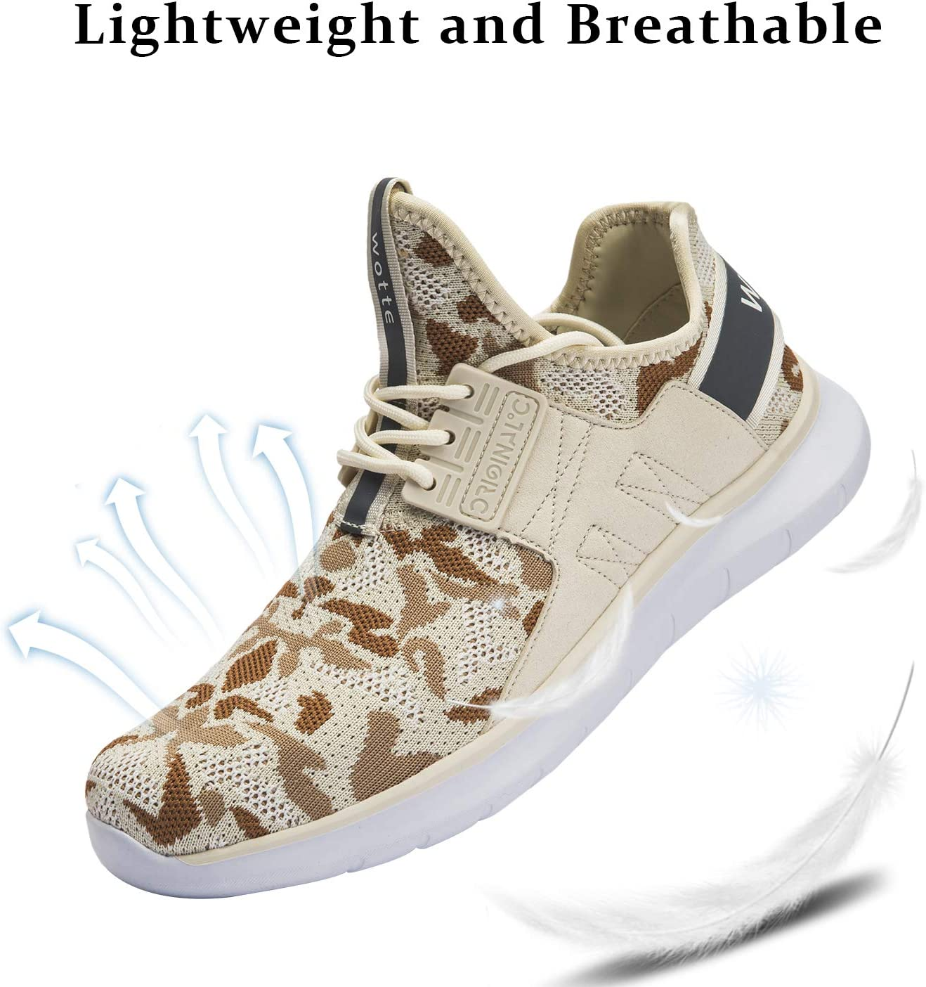 MAYI Chaussure De Sport Hommes Running Baskets Chaussures L/éger Respirante Gym Fitness Sneakers