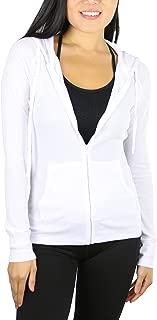 Women's Long Sleeve Full Zip-Up Thermal Hoodie