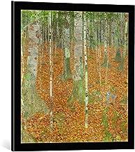 kunst für alle Framed Art Print: Gustav Klimt The Birch Forest Wood 1903