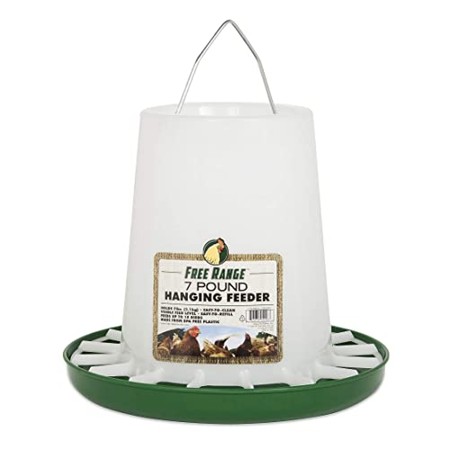 Harris Farms 1000297 Hanging Poultry Feeder, 7 Lbs