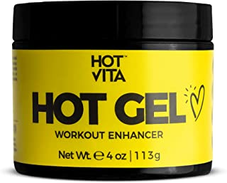 Hot Vita Hot Gel – Sweat Cream Workout Enhancer Belly Slimming Gel (4 oz)