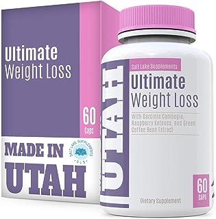 Ultimate Weight Loss Formula with Garcinia Cambogia, Green Tea, Green Coffee Bean, and Raspberry Ketones