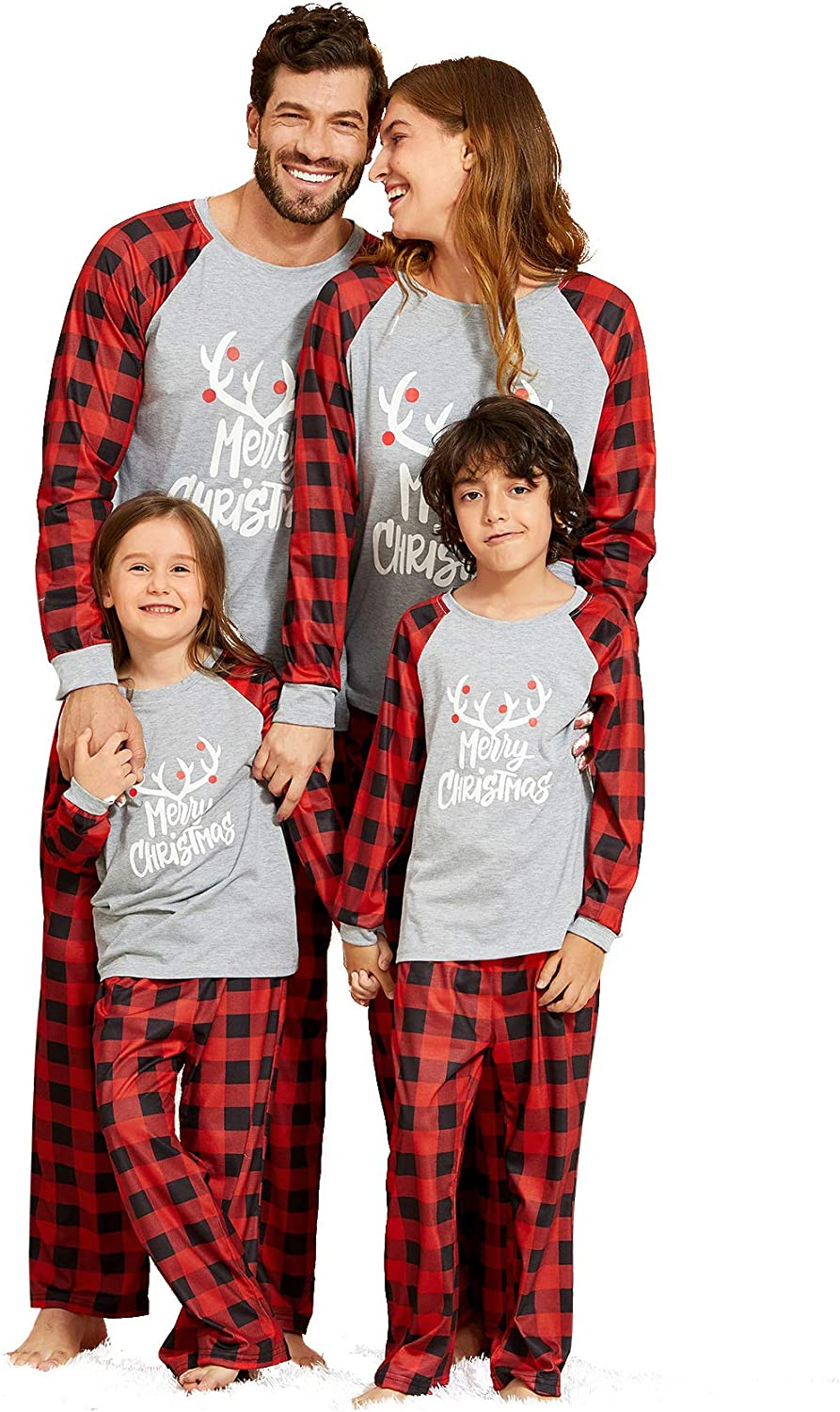 IFFEI Matching Family Elegant Pajamas Sets Lowest price challenge with Christmas Letter PJ's an