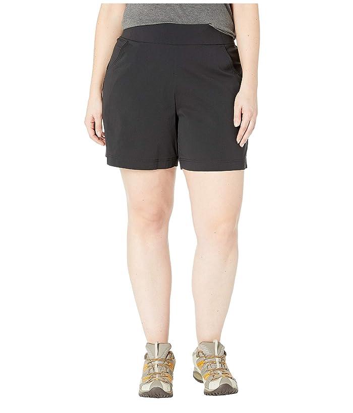 Columbia Plus Size Anytime Casualtm Shorts (Black) Women