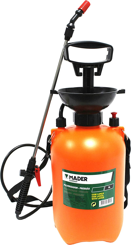Mader Garden Tools 49094 Pulverizador de Presión con Lanza INOX 5L-49094
