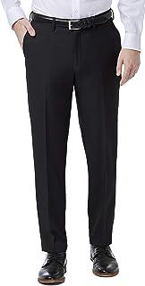 Haggar mens Premium Comfort Stretch Slim Fit Dress Pant Pants