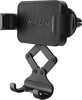 Mpow Gravity Car Phone Mount, Auto Lock and Release Air Vent Car Phone Holder Compatible iPhone 11 Pro XS Max XR X 8 Plus, Samsung S10+ S8+ Note 9 and Smartphone Under 6.8 Inch