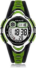 AZLAND Waterproof Swimming Frozen Sports Watch Boys Girls Led Digital Watches for Kids,Rubber Strap