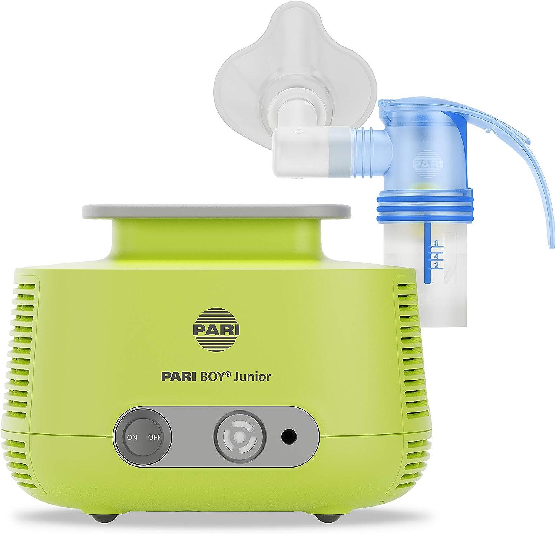Pari 130G1300 Boy Junior - Inhalador para el tratamiento de enfermedades respiratorias, para niños pequeños y bebés a partir de 1 mes