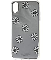 Kate Spade New York - Mirror Spade Flower Phone Case for iPhone XS Max