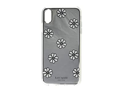 Kate Spade New York Mirror Spade Flower Phone Case for iPhone XS Max (Silver Multi) Cell Phone Case