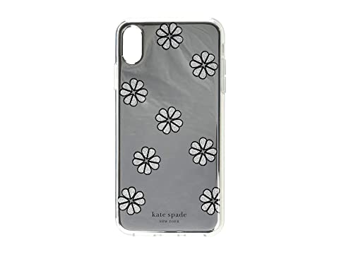Kate Spade New York Mirror Spade Flower Phone Case for iPhone XS Max