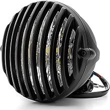 Qiilu Motorcycle Seat Spring,1 Pair 3 Steel Seat Barrel Springs for Chopper Bobber Motorcycle Matte black