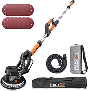 TACKLIFE Drywall Sander 6.7A(800W), Automatic Vacuum System Enable Efficient Dust..