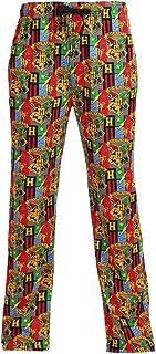BioWorld Merchandising Men's Harry Potter Hogwarts School Lounge Pants